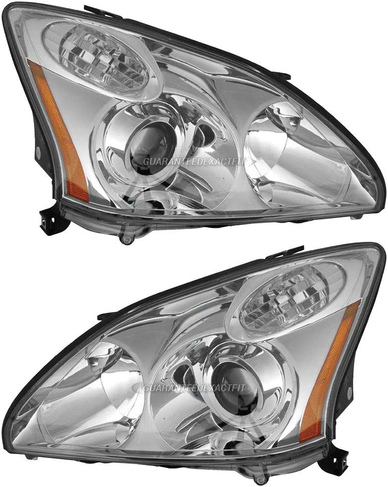 HID Headlight Set For 2004-2006 Lexus RX330 Left /& Right Pair