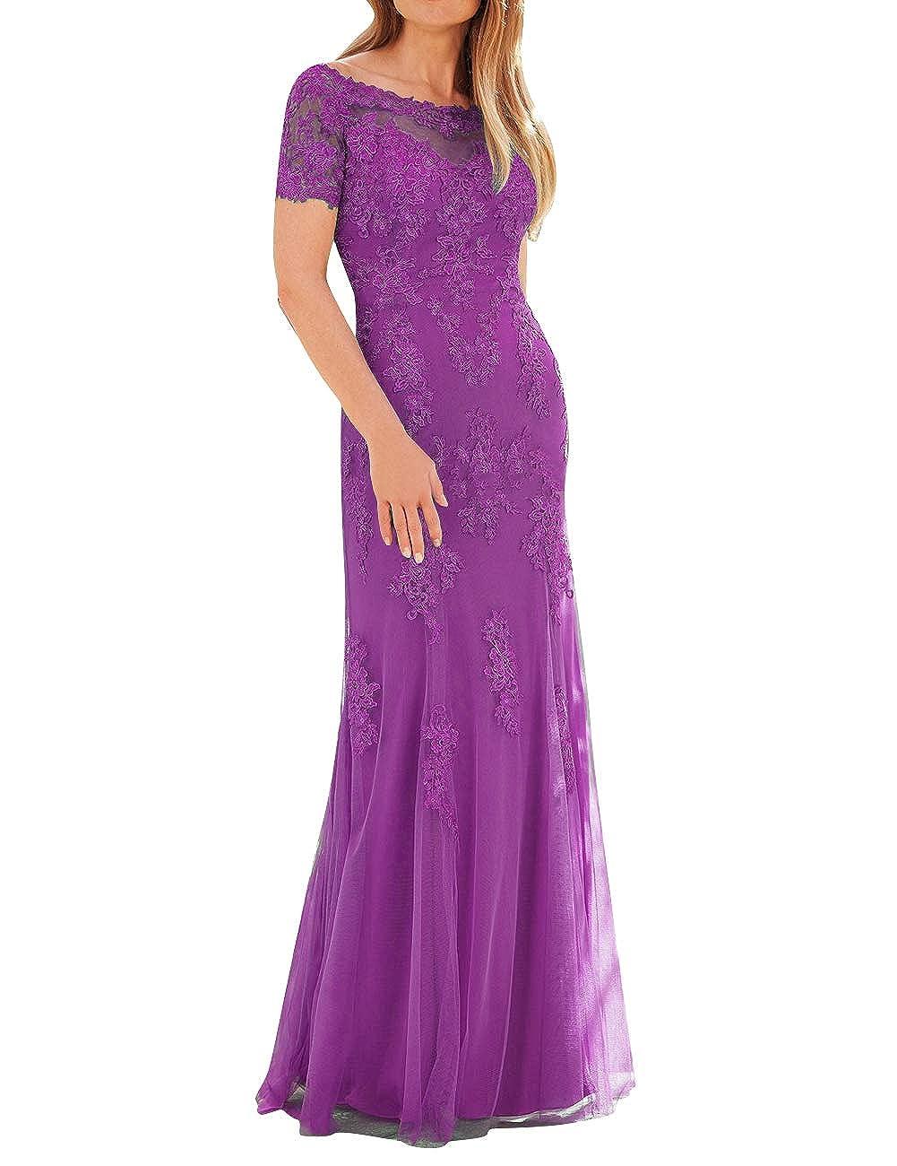 300eff7f Purple Lace Prom Dress Amazon - raveitsafe
