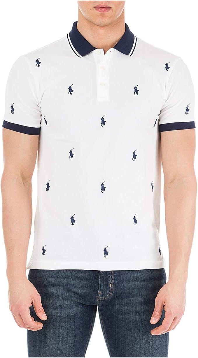 Polo Polo Ralph Lauren Knit Blanco Hombre L Blanco: Amazon.es ...