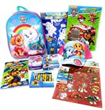 Best Paw Patrol Toys For Preschoolers - Paw Patrol Backpack Activities With Puzzle, Crayons, Stickers Review