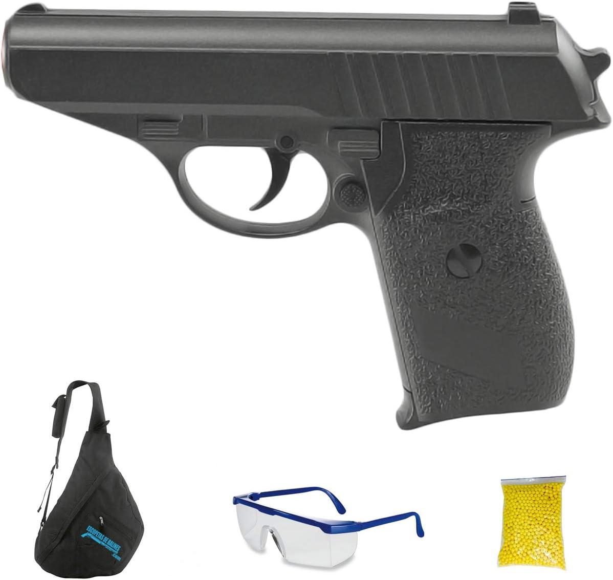 Galaxy G3 (6mm - Pistola de Airsoft Calibre 6mm (Arma Aire Suave de Bolas de plástico o PVC). Sistema: Muelle. <3,5J
