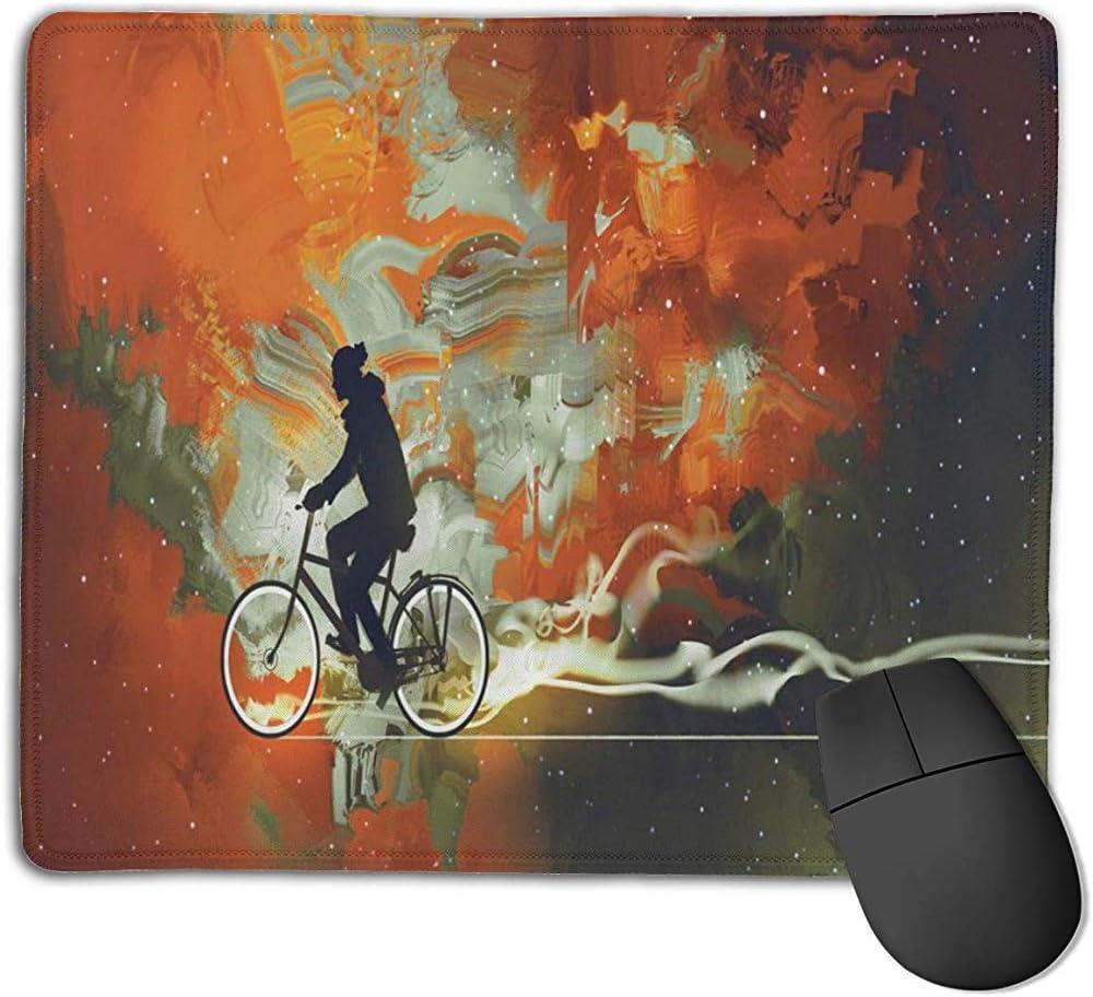 Alfombrilla De Teclado,Bicicleta A La Vía Láctea Viaje En El ...