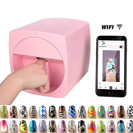 Amazon.com : Multifunction Portable Nail Art Printers ...