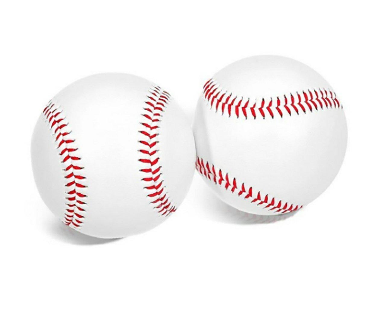 Hohe Qualität 9 Zoll handgemachte Baseballs PVC oberen Gummi inneren Soft & Hard Baseball Softball Bälle für Training ausüben Lbsel Direct DE