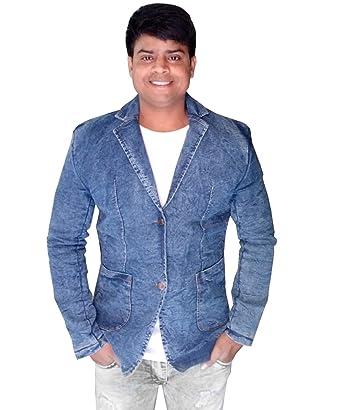 blue blazer blue jeans