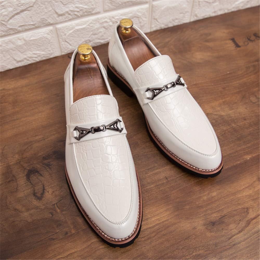 GBY Herrenmode Oxford Casual Persönlichkeit Nähte Metall Accessoires Formale Schuhe Schuhe Schuhe Mode Slipper  6eddfd