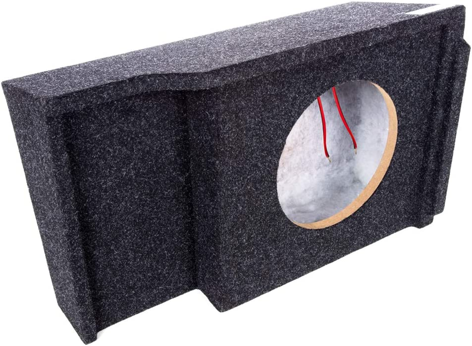 "Atrend Bbox SCA151-10CPSingle10/"" Sealed Subwoofer EnclosureFits 1999-2007 GMC Silverado//Sierra Cab"