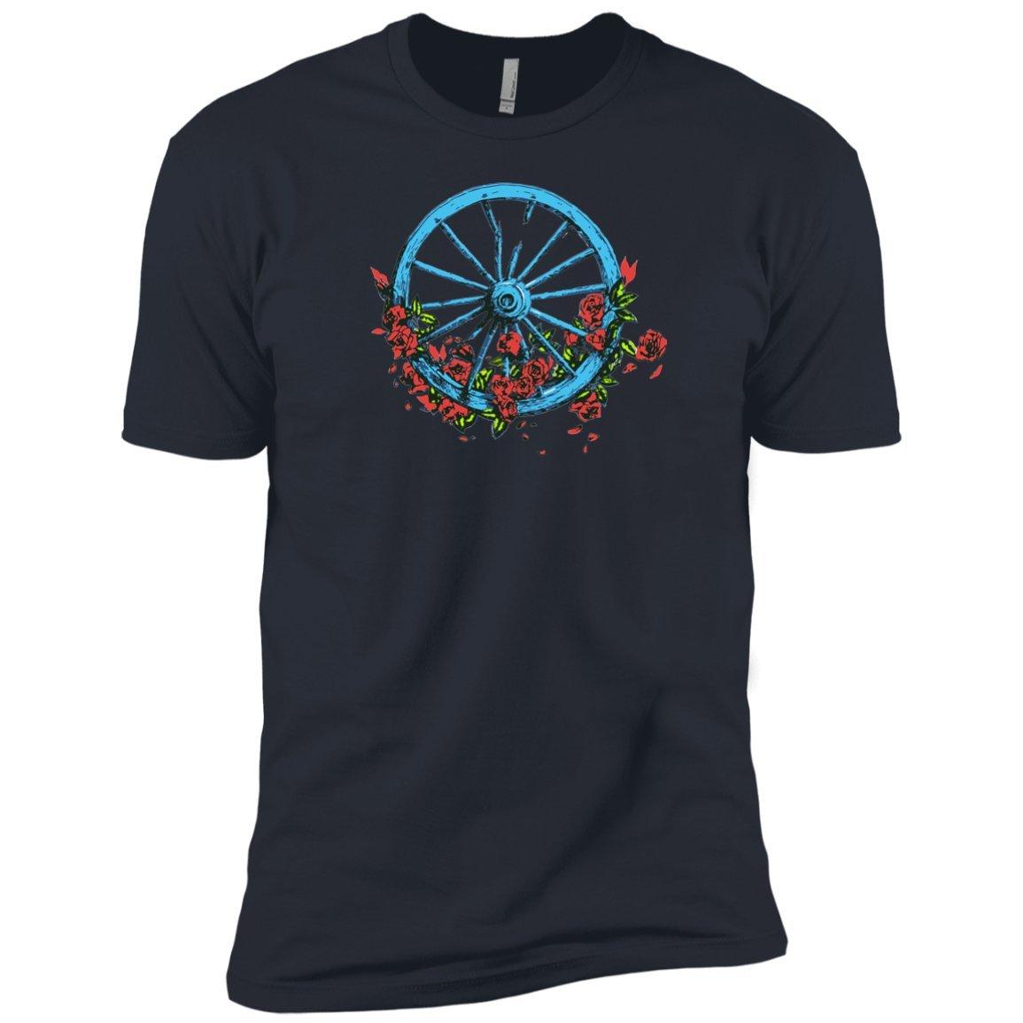 Wheel Roses Premium T Shirt For 4851