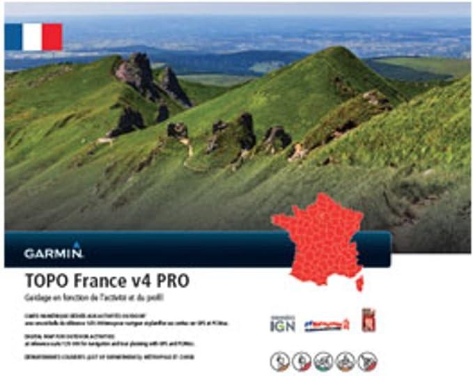Garmin Topo Francia v4 Pro - Software de navegación: Amazon.es: Electrónica