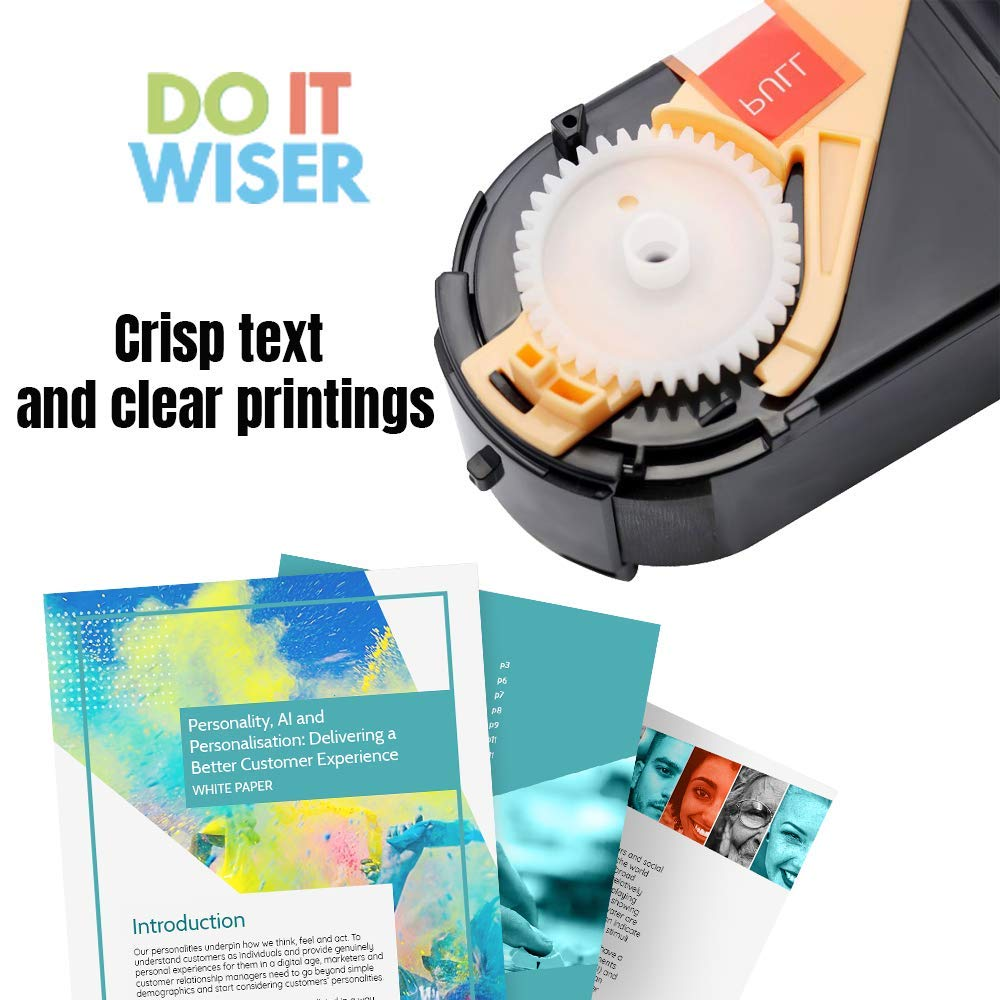 Do it Wiser /® Compatible Black Toner Cartridge For Xerox Phaser 7100 7100N 7100DN 106R02605 Black Yield 5,000 Pages