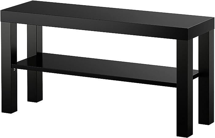 Banco de Ikea Lack para TV, negro: Amazon.es: Hogar