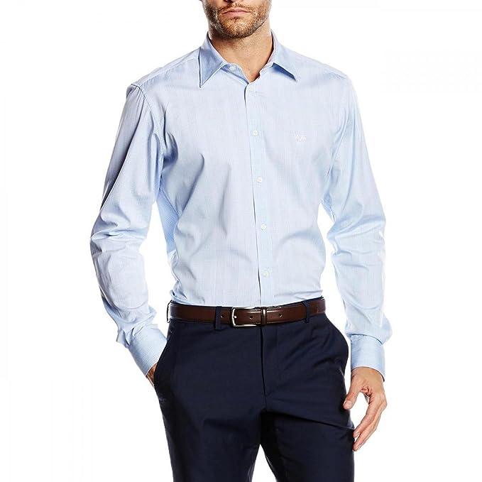 84ee6bfd9f2ca3 Versace 19.69 Abbigliamento Sportivo Srl mens fit modern long sleeve shirt  MCC54  Amazon.ca  Clothing   Accessories