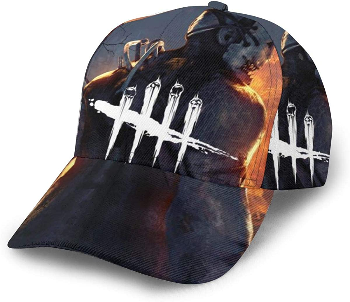 Dead by Daylight Baseball Cap Unisex Adjustable Hip Hop Hat Cotton Classic Washed Men Women Hat Black