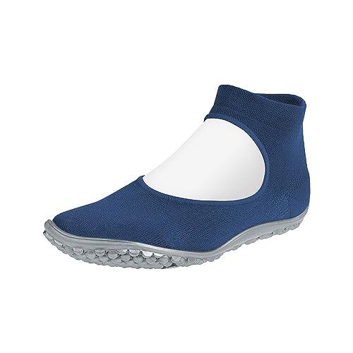 new concept 414f6 9041d leguano Ballerina Blau   der Leichte Barfußschuh für Damen