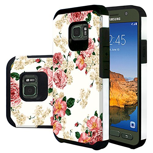 Galaxy S7 Active Case, Harryshell(TM) Shock Absorption Drop Protection Hybrid Dual Layer Armor Defender Protective Case Cover for Samsung Galaxy S7 Active (B-1)