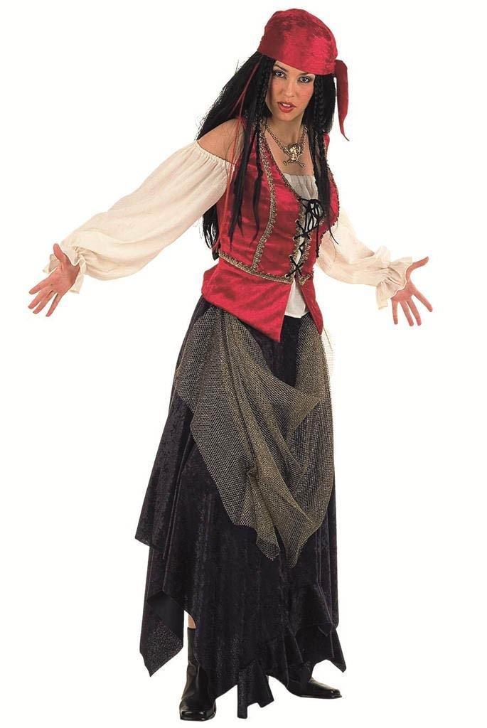 Limit Damen Kostüm Pirat Valorius'Corsair Arbeitsspeicher (2X, groß)