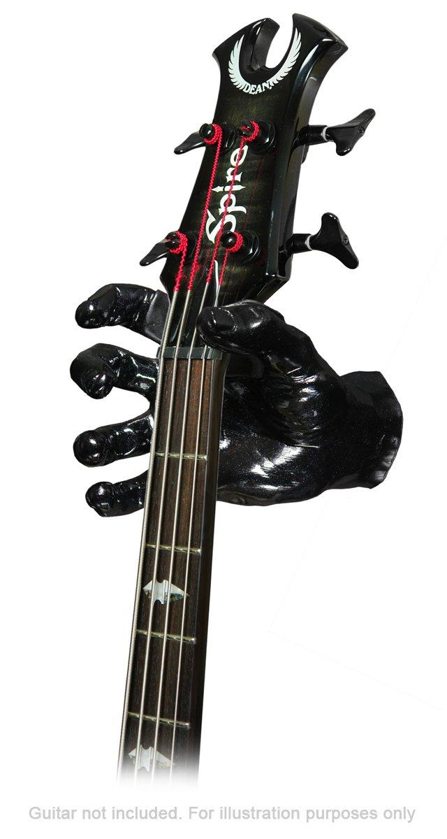 GuitarGrip RHGH-106R Male Standard Grip Noir m/étalis/é Main droite