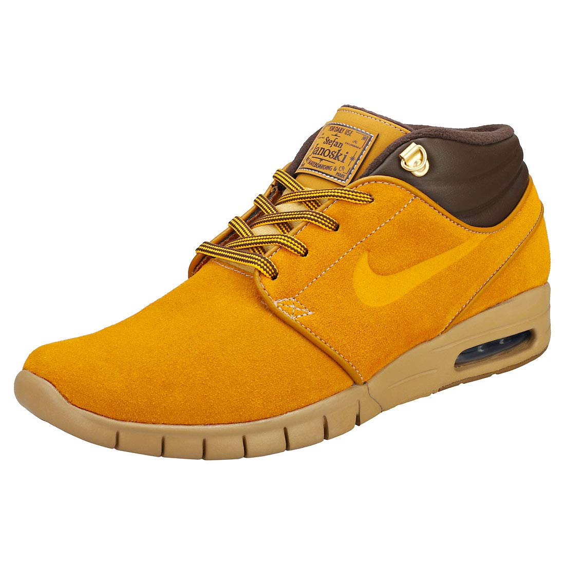 save off 58465 1a85a Amazon.com   Nike Stefan Janoski MAX MID PRM Mens Skateboarding-Shoes  AV3610   Shoes