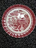 Vintage Spode Copeland England Mandarin Pink plate 7 3/4