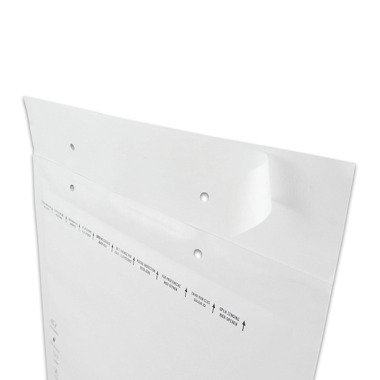wei/ß 170 x 225 mm au/ßen Versando 100 Luftpolsterversandtaschen Versando C3