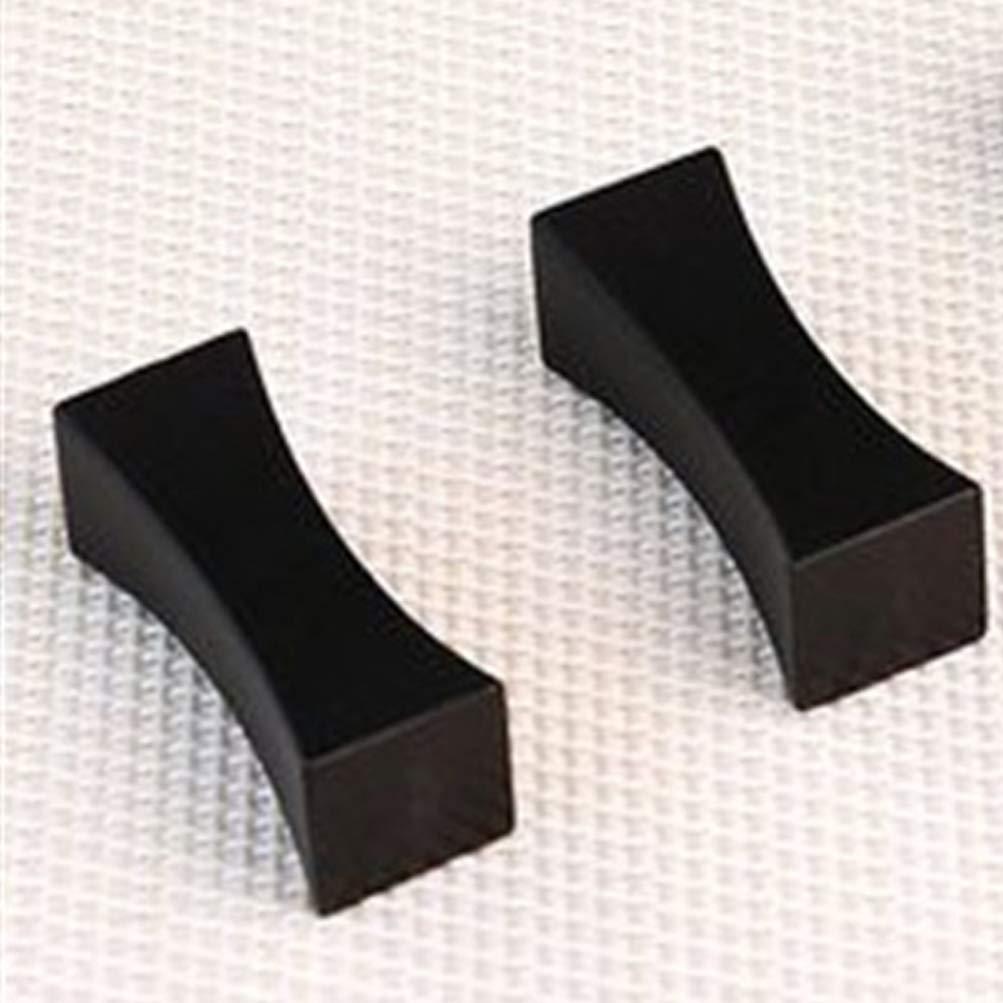 BESTONZON 2 piezas de acero inoxidable de aleaci/ón de zinc soporte de palillos en forma de almohada palillos cuchara tenedores vajilla de descanso estante