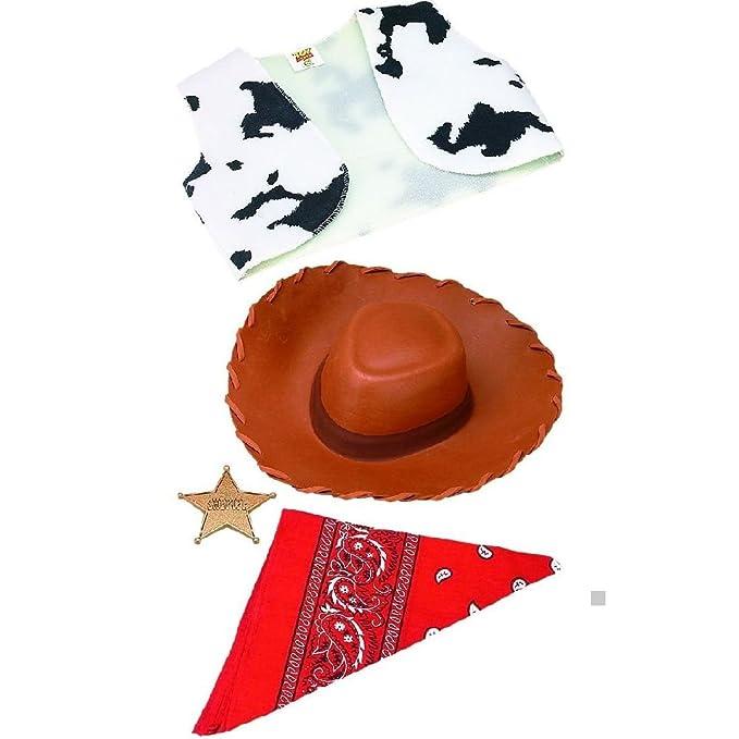 Amazon.com: Kit de accesorios de disfraz de Woody Toy Story ...