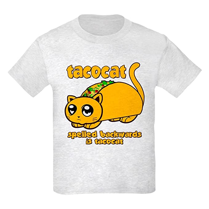 27ed79a4 Amazon.com: CafePress - Funny! Taco Cat T-Shirt - Kids Cotton T ...