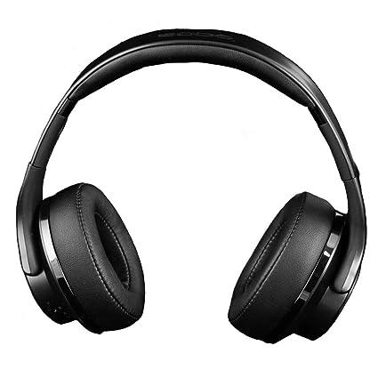 Ksix Auriculares Inalámbricos 2 en 1 Reversibles a Altavoz Bluetooth, Plegables, NFC, Micro