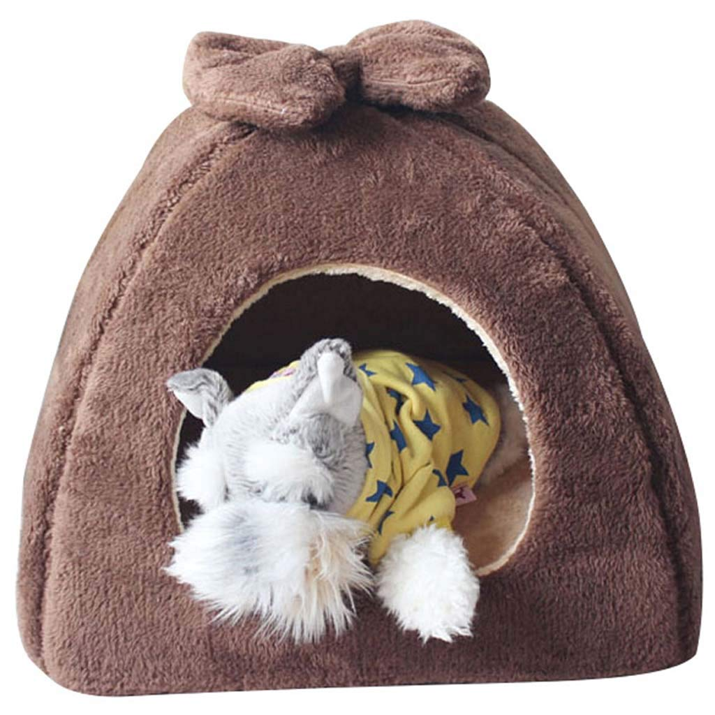 A s a s SuyunPP Cat Nest Four Seasons Dog Nest Removable And Washable Fully Enclosed Yurt Cat House Dog House Warm In Autumn And Winter