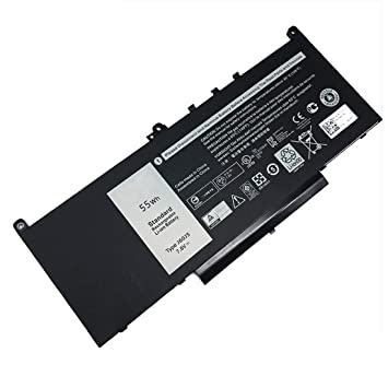 GreatCell J60J5 7.6V 55Wh Batería del Ordenador Portátil Compatible con DELL Latitude E7270 E7470 Series R1V85 451-BBSX MC34Y 242WD: Amazon.es: Electrónica