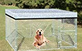 Agfabric Reflective Aluminet Shade Cloth Cover for Dog kenel 7x12ft