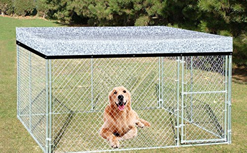 Agfabric Reflective Aluminet Shade Cloth Cover for Dog kenel 7x7ft by Agfabric