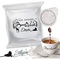 Café cápsula ETIOPÍA | Cialda ESE 44mm Cápsulas Ecológicas | 100 monodosis Bocca Della Verità.