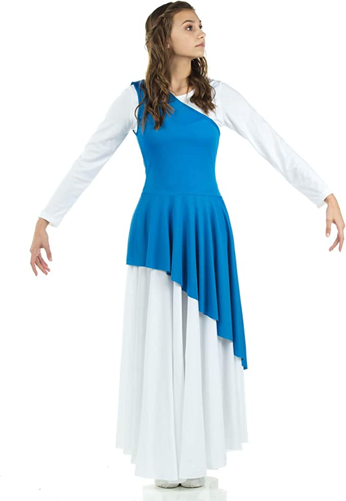 Asymmetrical Praise Dance Tunic