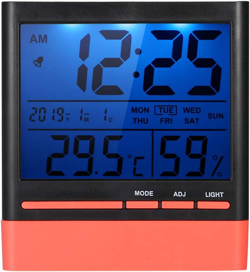 Mini Digital LCD thermomètre hygromètre Humidité compteur salle intérieure Température