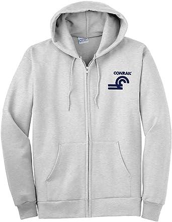 23 Conrail Herald Zippered Hoodie Sweatshirt