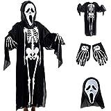 SOOGGI ハロウィン コスプレ 衣装 恐怖 死神 吸血鬼 仮装 コスチューム メンズ 男性用 フリーサイズ