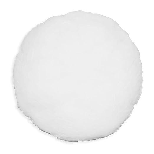 Cojín de relleno de poliéster en color blanco y con relleno ...