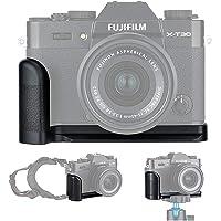 JJC Metal Hand Grip Quick Release Plate L Bracket Holder for Fujifilm X-T30 X-T20 X-T10 Replaces Fuji MHG-XT10 Handgrip…