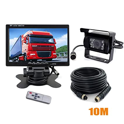Amazon.com: Vehicle Backup Camera Monitor Kit,IR Night ...