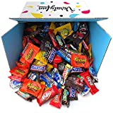 Candy & Chocolate HERSHEY'S Nestle M&M'S Variety Assortment Mix Bulk Value by Variety Fun (288 oz)
