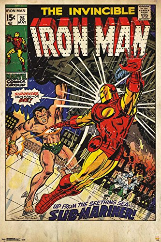 Trends International Marvel Iron Man #25 Collector's Edition