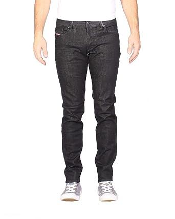61113159 Diesel - Men's Jeans Sleenker R48B - Slim Skinny - Black, W33 / L30 ...