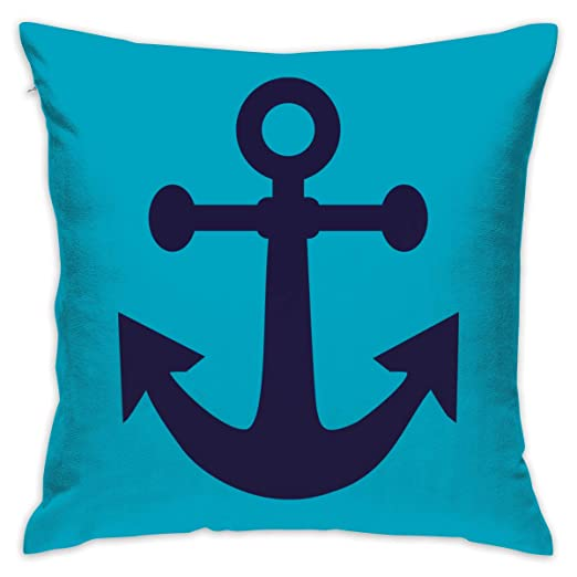 Crazy Popo Ancla Pirata Decorativo Throw Fundas de Almohada ...