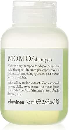 Davines Momo Moisturizing Shampoo by Davines for Unisex - 2.5 oz Shampoo, 75 milliliters