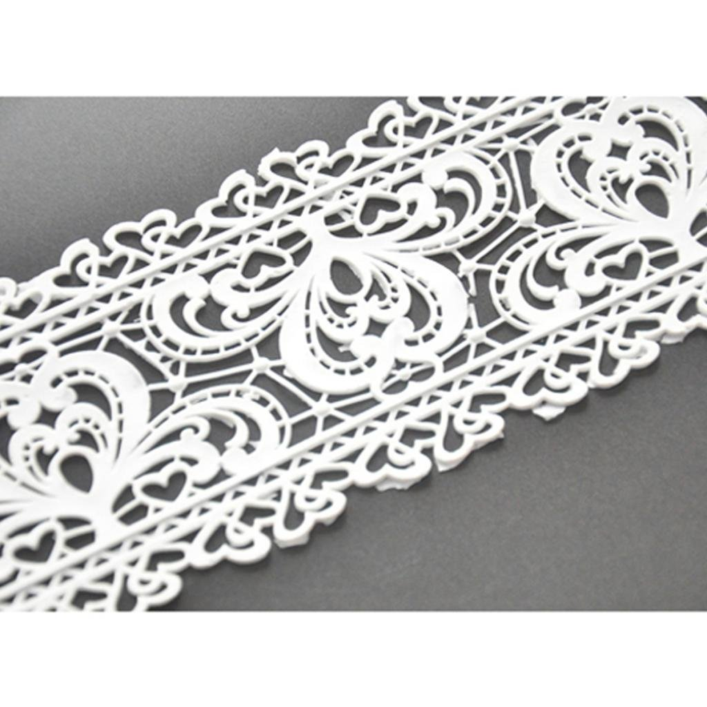 FOUR-C Baking Decorating Embossing Silicone Mat Lace Cake Pad MJ-MHC-061