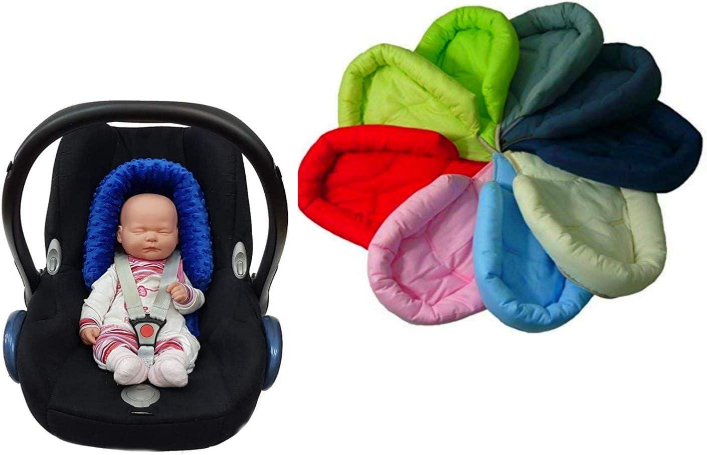 acolchado para asiento de coche Sweet Baby Softy Design talla 0//0+ Reductor de asiento para reci/én nacidos