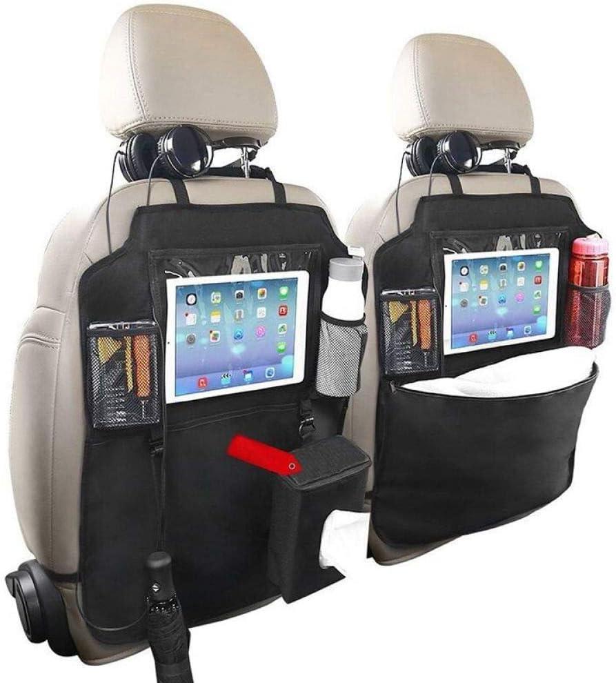 Wangxiao Auto Sitz Rücken Organisator 2 Pc Eingebauter Ipad Tablette Halter Mehrfachfracht Speicher Stoß Matten Schutz Spielraum Zusätze Küche Haushalt
