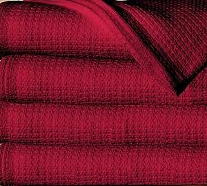 Sun Yin 100-Percent Cotton Full/Queen Blanket, Burgundy