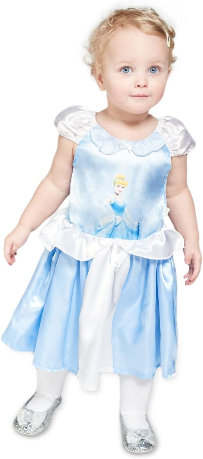 Princesas Disney- Disfraz bebé, Color azul, 18-24 Meses (Travis ...